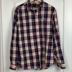 J Crew Men's Button Down Shirt Size L